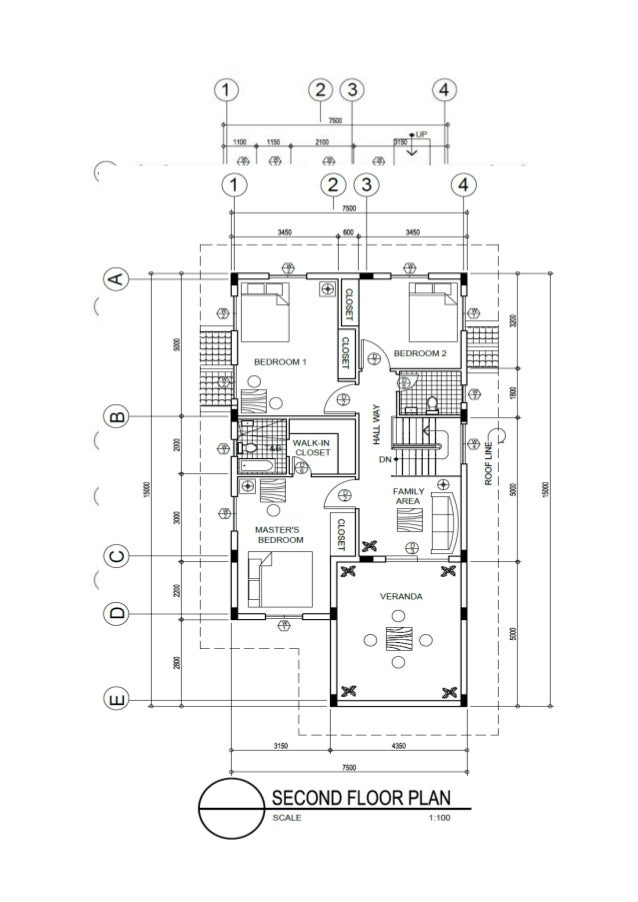 100 Floors Free Level 97 Diseno De Casa En Autocad 80m2