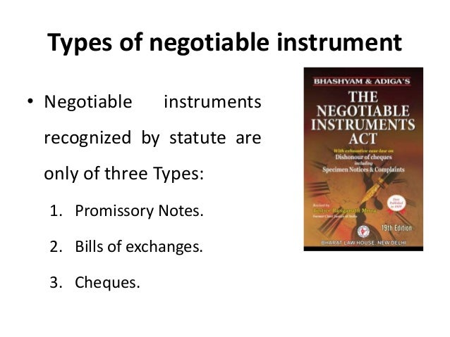 discharge of negotiable instruments Start studying ch 20 issue, transfer, indorsement and discharge of negotiable instruments learn vocabulary, terms, and more with flashcards, games, and other study tools.