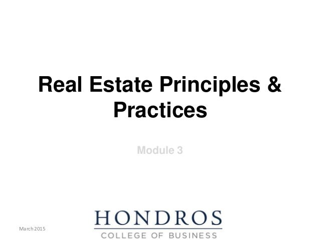 Principles and Practice Module 3 PowerPoint