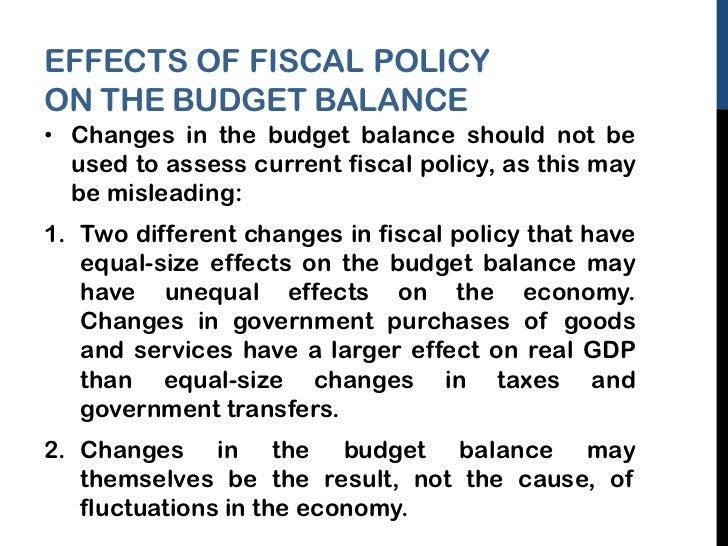 discuss the impact of current fiscal and monetary policy on the economy Introduction: the macroeconomics of fiscal how does fiscal policy affect the macro economy fiscal policy affects the macroeconomics of fiscal policy.