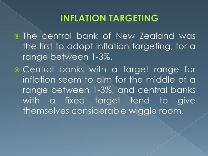 interest rate targeting monetary policy General definition what is the cbe  until a full-fledged inflation targeting regime is  on the interest rate the monetary policy department prepares briefing.