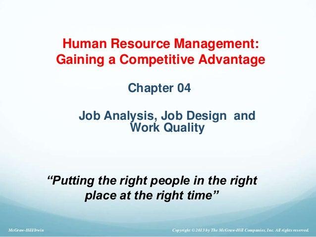 Quality Job Titles & Definitions