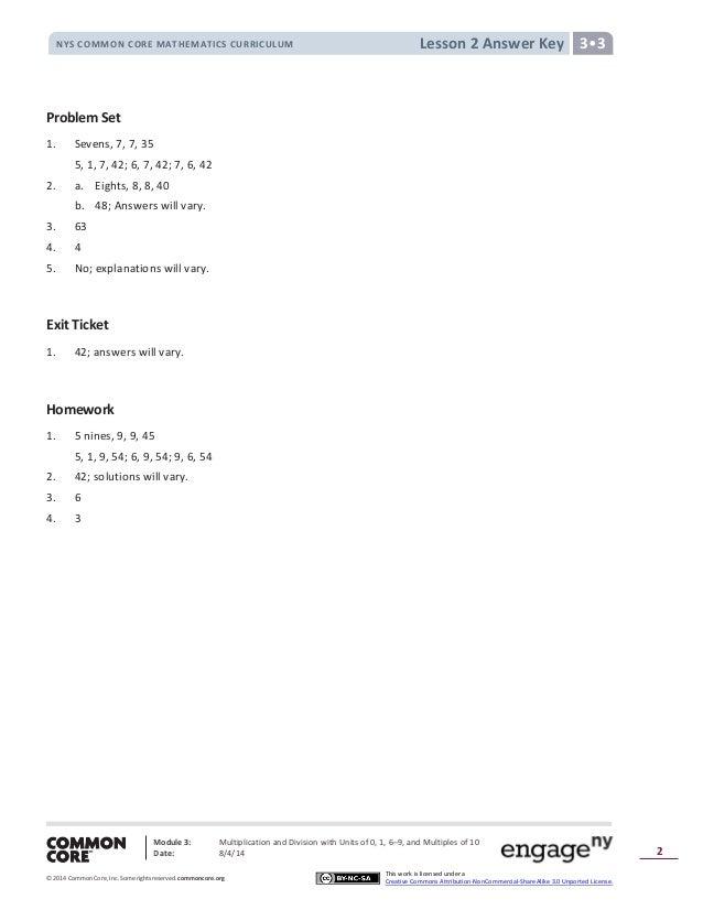 Module 3 answer key