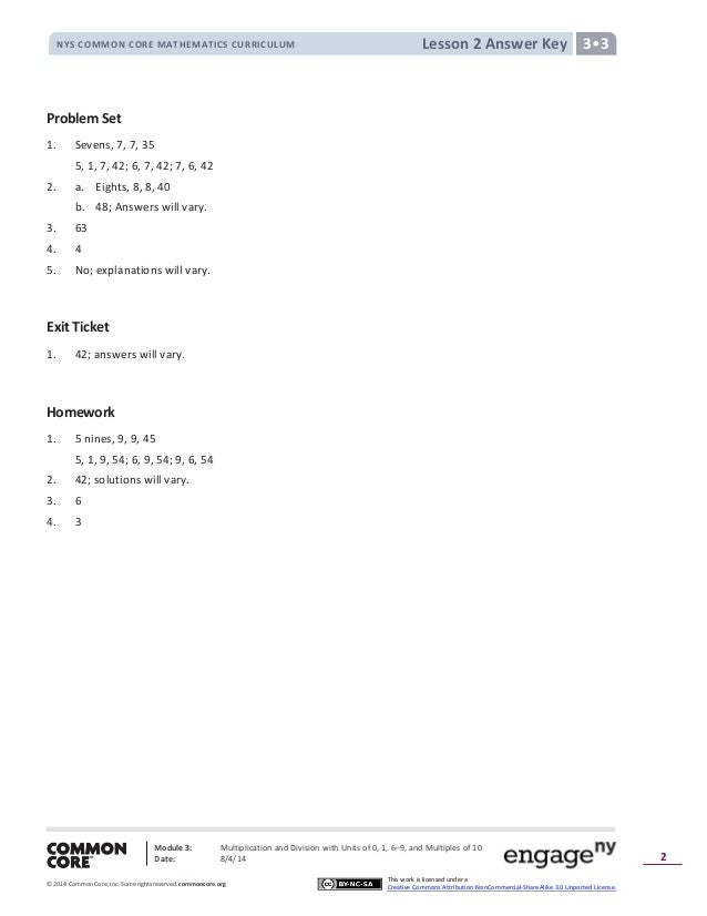 Module 3 answer key