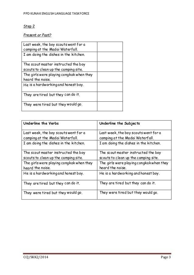 Narrative Writing for UPSR (Worksheet)