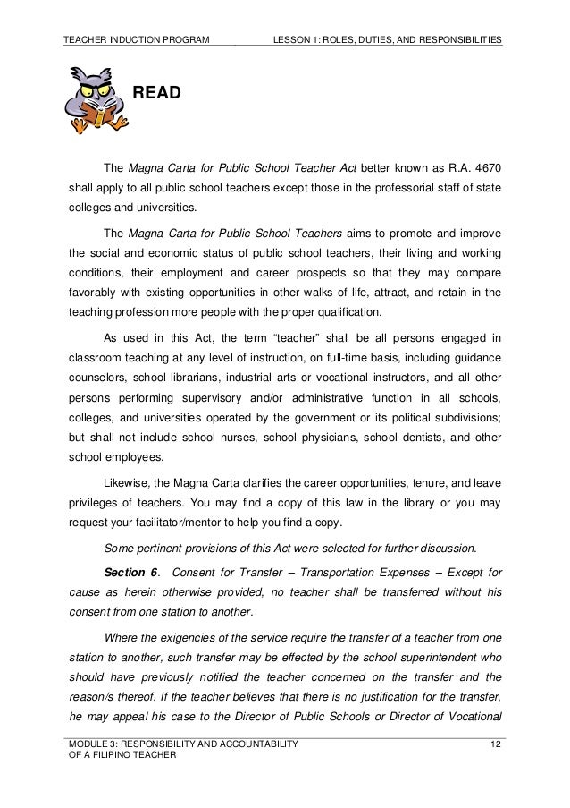 Essay on importance of accountability formation