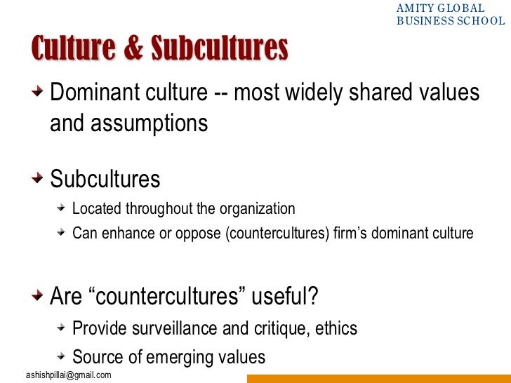 subculture vs counterculture