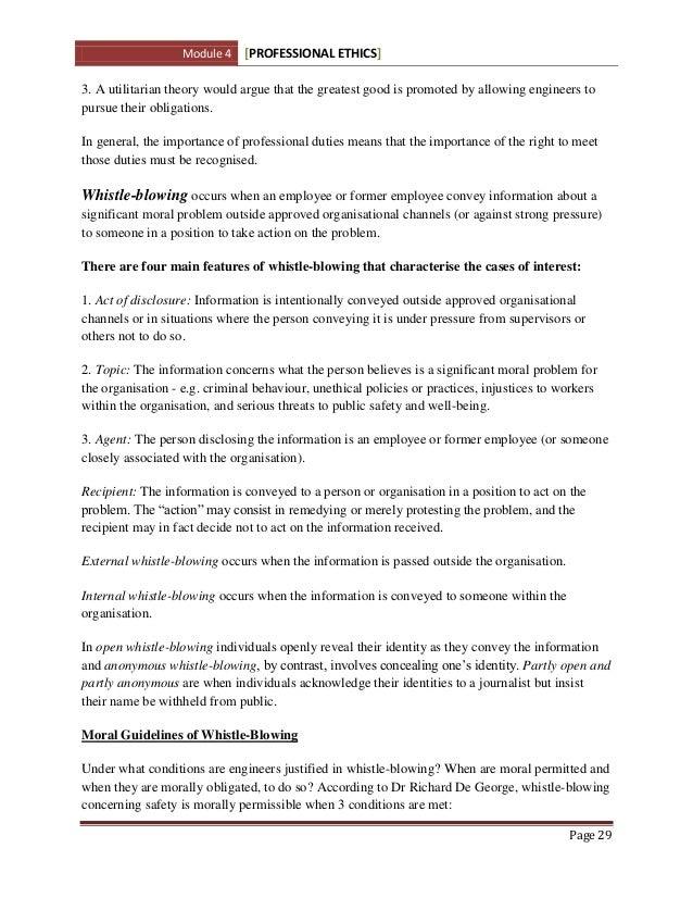 Acca professional ethics module essay writing