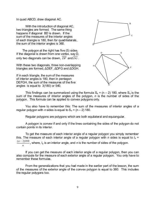 Module 4 Geometry Of Shape And Size