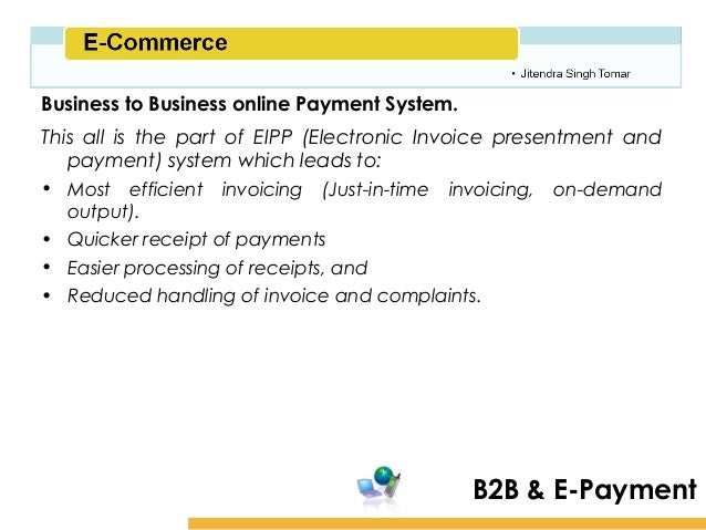 ECommerce Payment System - Invoice payment system