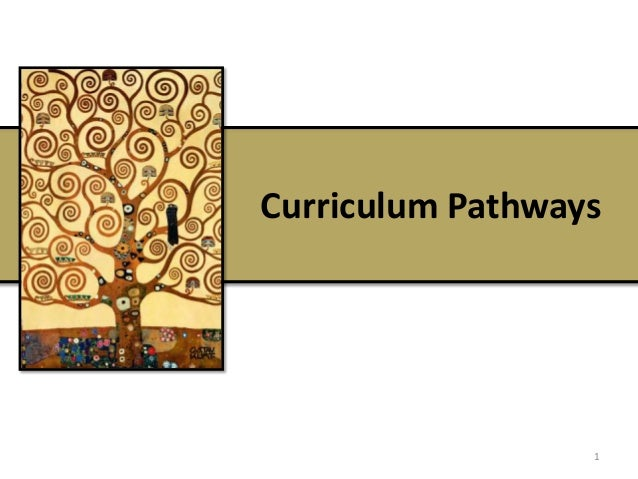 Curriculum Pathways 1