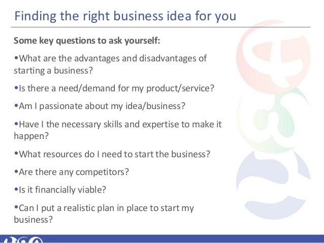 Module 4 whats the big idea 12 finding the right business idea solutioingenieria Image collections