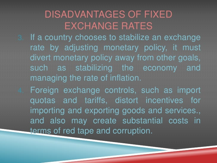 disadvantages of fixed costs