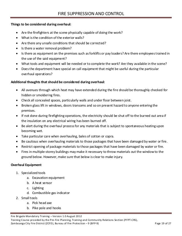 short essay on fire brigade