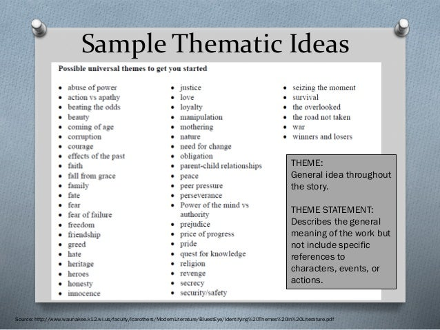 great thesis statement examples