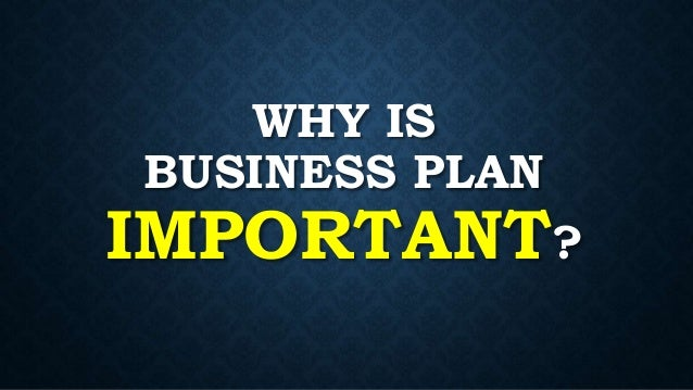 the importance of a business plan for a successful business Business plans are important for all businesses, not just startups here are 10  benefits of business planning for all businesses.