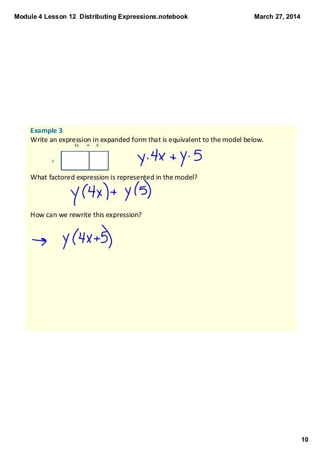 Module 4 Lesson 12