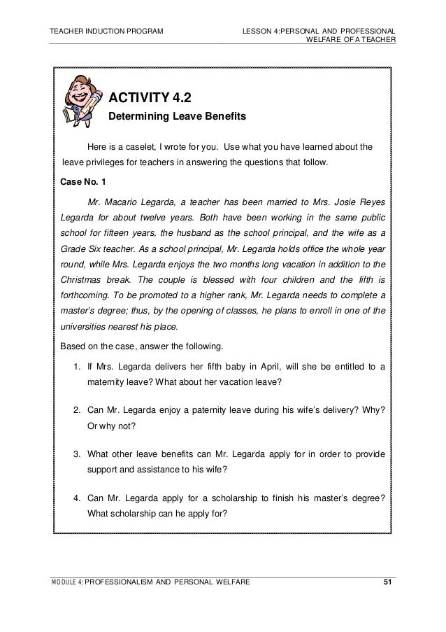 teacher case study essay Case studies developed by the aps task force on ethics education   suggestions and notes to the teacher in this teacher's edition are provided in  this font  you find a novel solution to an important problem posed by your  advisor.