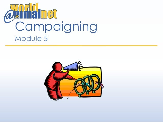 Campaigning Module 5