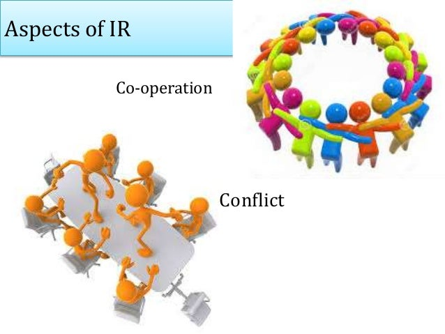 Aspects of IR Co-operation Conflict