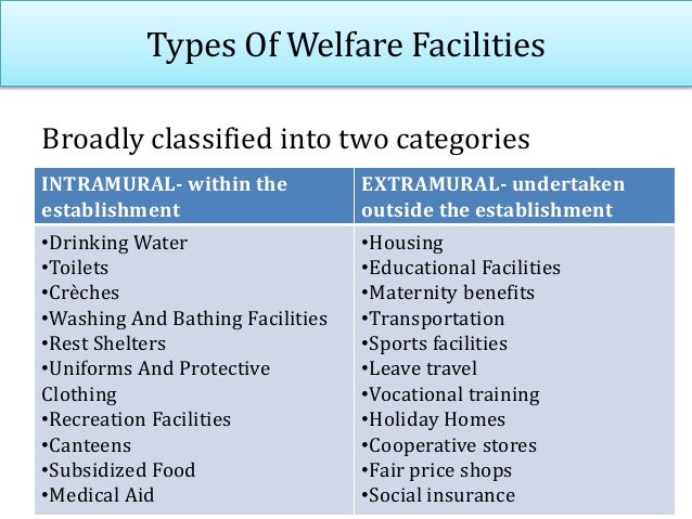 Labour welfare officer • As per the Factories act of 1948, Plantation Labour Act 1951 and the Mines Act 1951- provide for ...