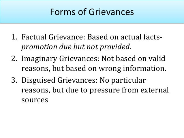 GRIEVANCE PROCEDURE • Most significant channel through which dissatisfaction of employees can be communicated to managemen...