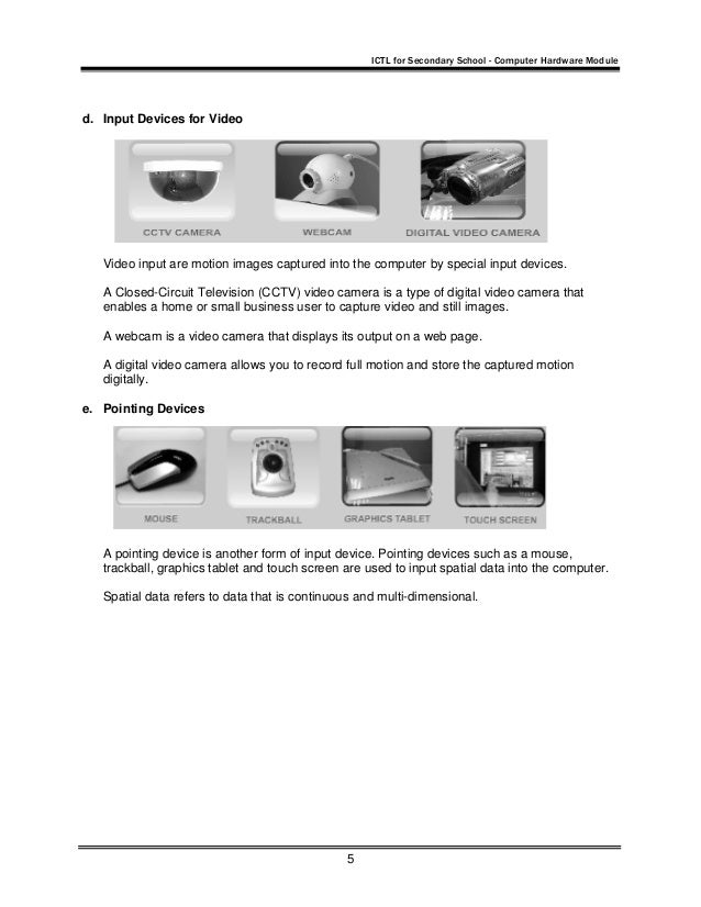 input output and storage devices pdf