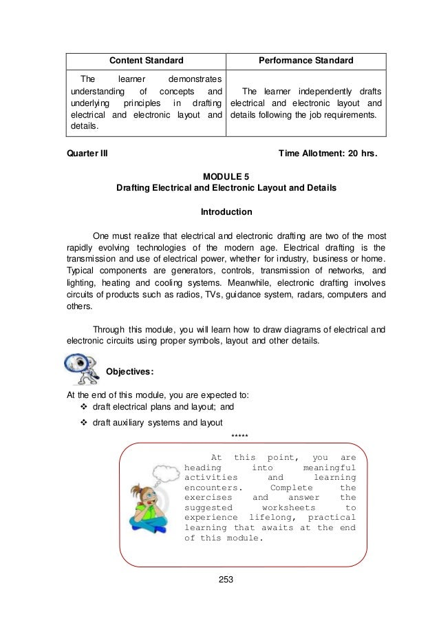 module 5 module 3 draft electrical and electronic layout and details rh slideshare net