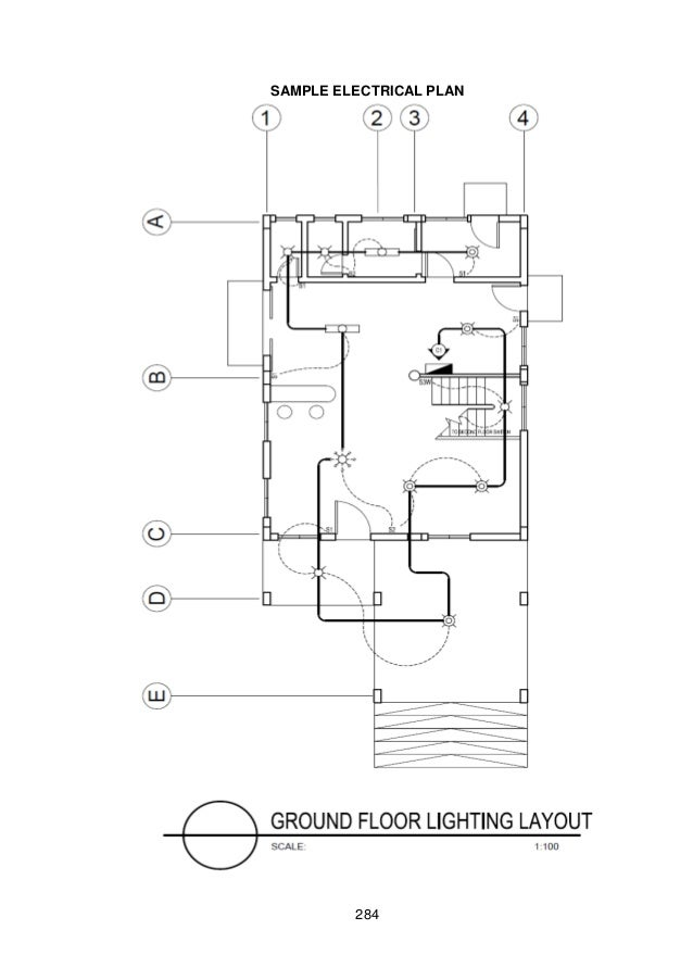 Sample Electrical Floor Plan,Electrical.Home Plans Ideas Picture