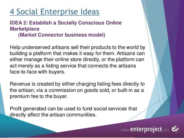 Module 5 social enterprise - a key integration and
