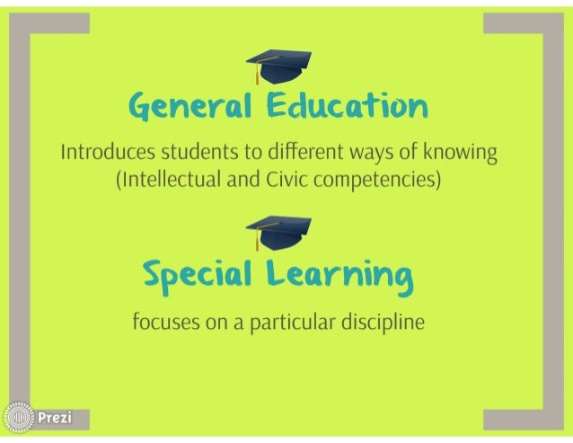 'D'  General Education  Introduces students to different ways of knowing (Intellectual and Civic competencies)     WU'  Sp...