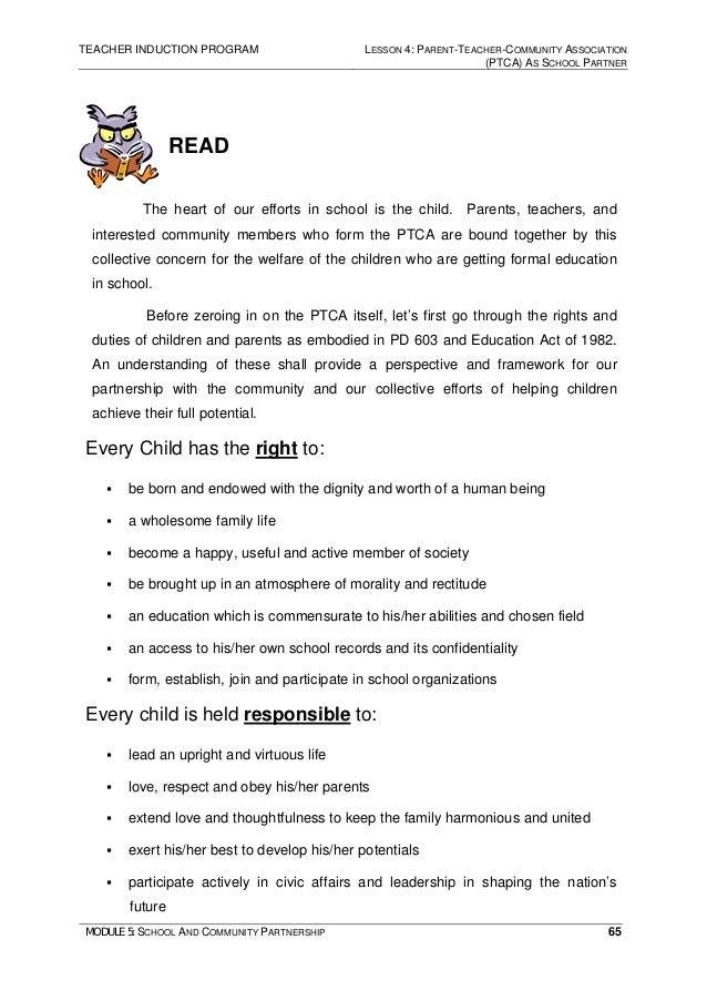 Module 5 School And Community Partnership