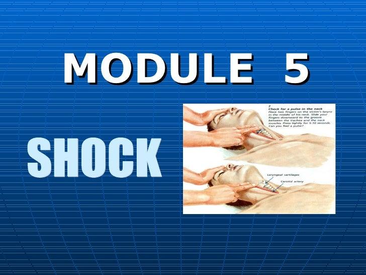 MODULE  5 SHOCK