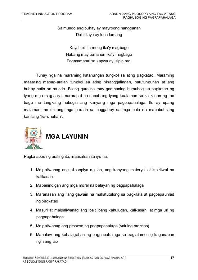 pagpapahalaga ng buhay Ang talatang ito ay nagbibigay pansin sa pagpapahalaga sa mga  na matapos  makakilala sa dios, ang isang buhay na walang kalayaan at.
