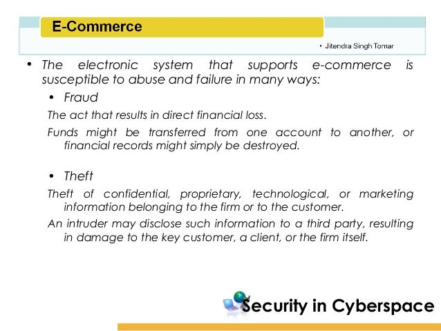 Report on e commerce security