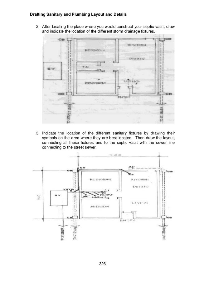 Module 6 Module 4 Draft Sanitary And Plumbing Layout And Details