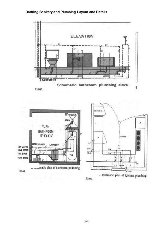 Module 6 module 4 draft sanitary and plumbing layout and