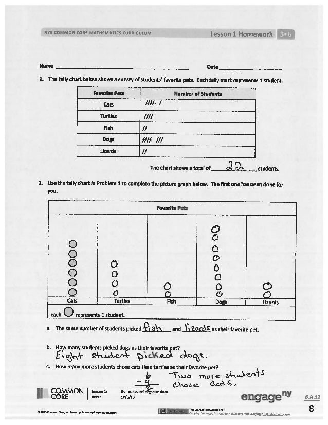 Module 6 answer key for homework