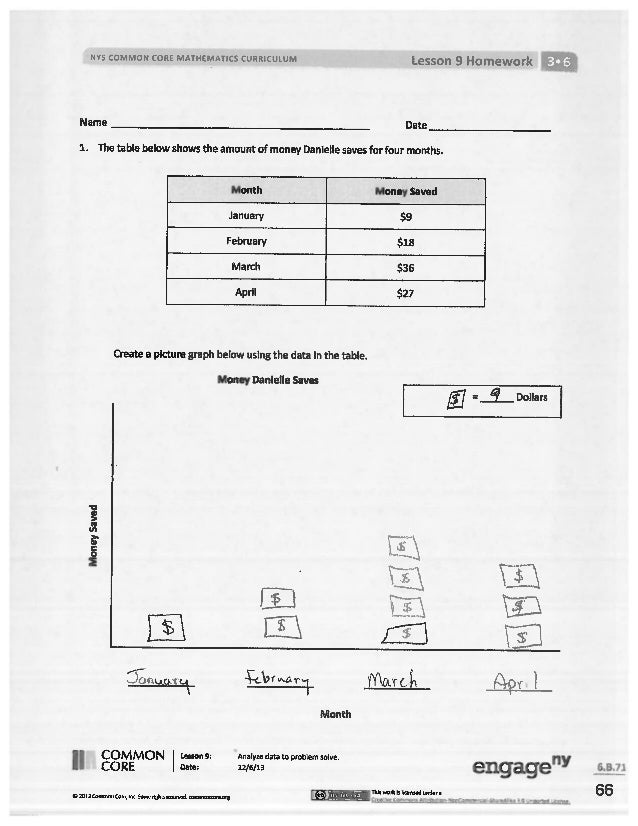 Module 6 answer key for homework nys common core fandeluxe Images