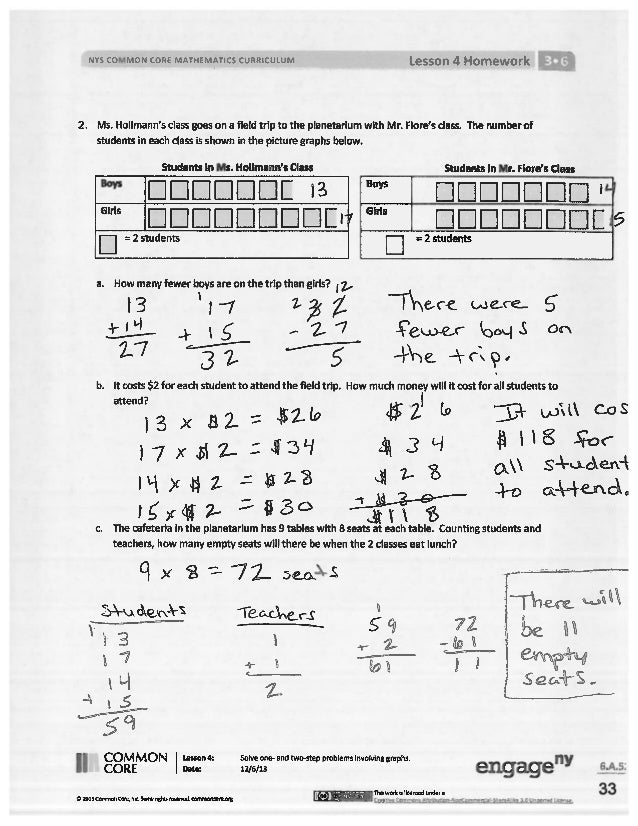 Lesson 17 homework 5.5 answer key