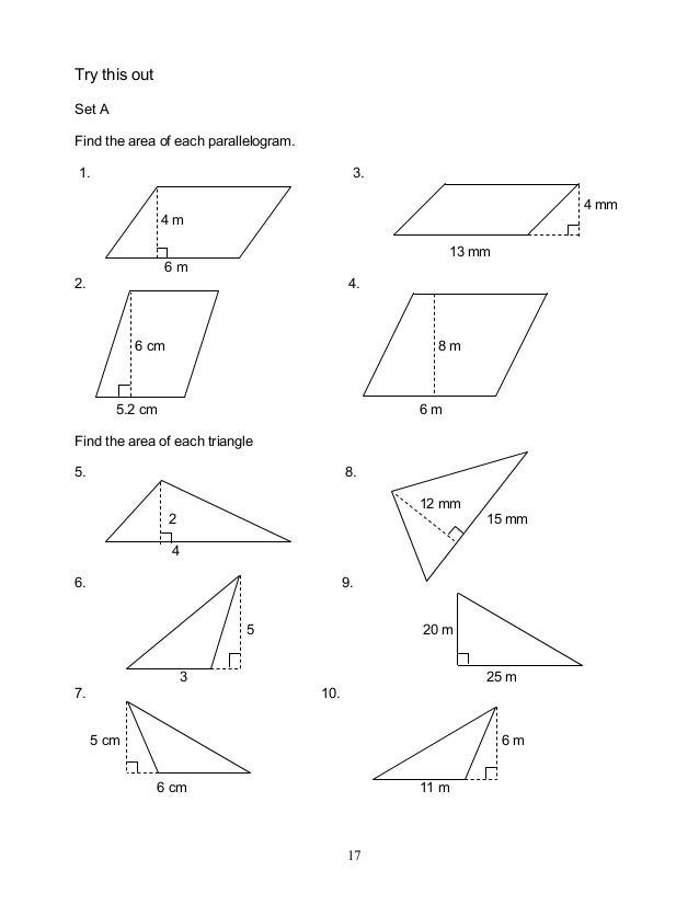 Module 6 geometry of shape and size