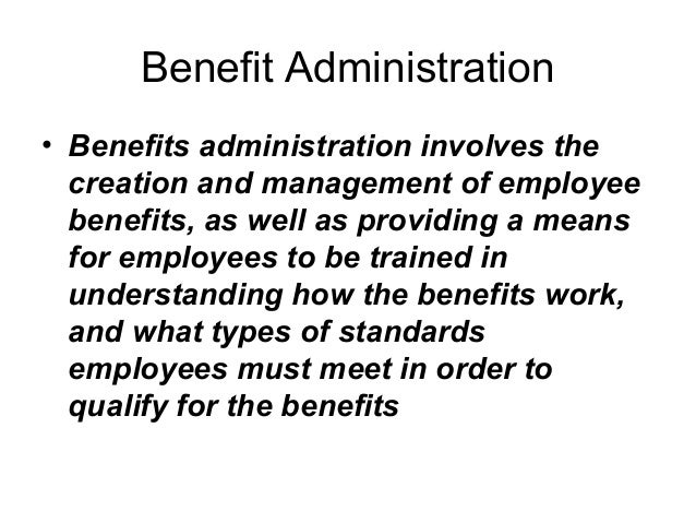 Module 7 compensation and benefit administration