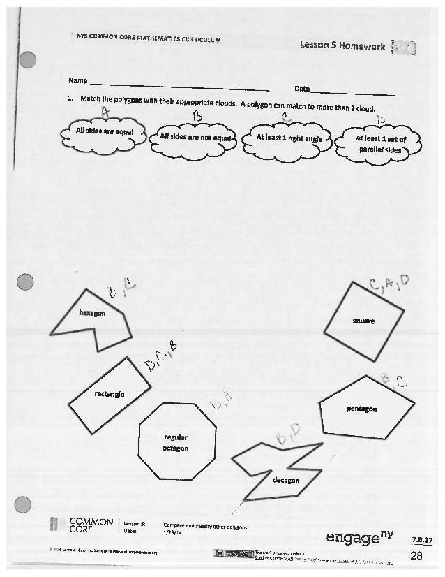 answer key for homework