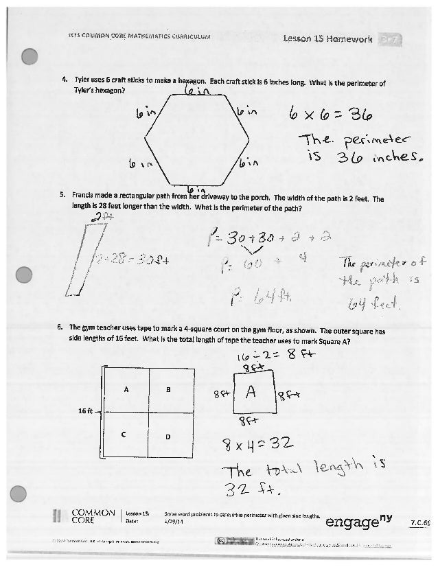A Story Of Ratios Lesson 16 Homework - image 2