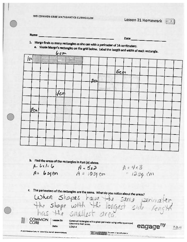 Eureka Math Grade 3 Lesson 21 Homework Answer Key