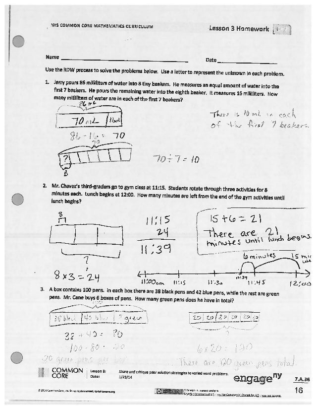 Lesson 14 homework 4.3 answer key