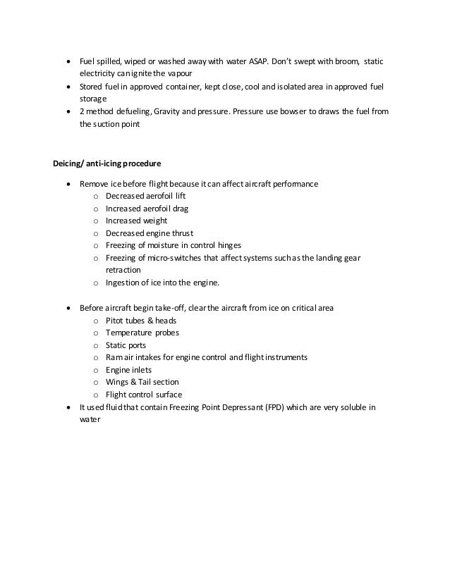 M7 Maintenance Practices essay (CAT A1)