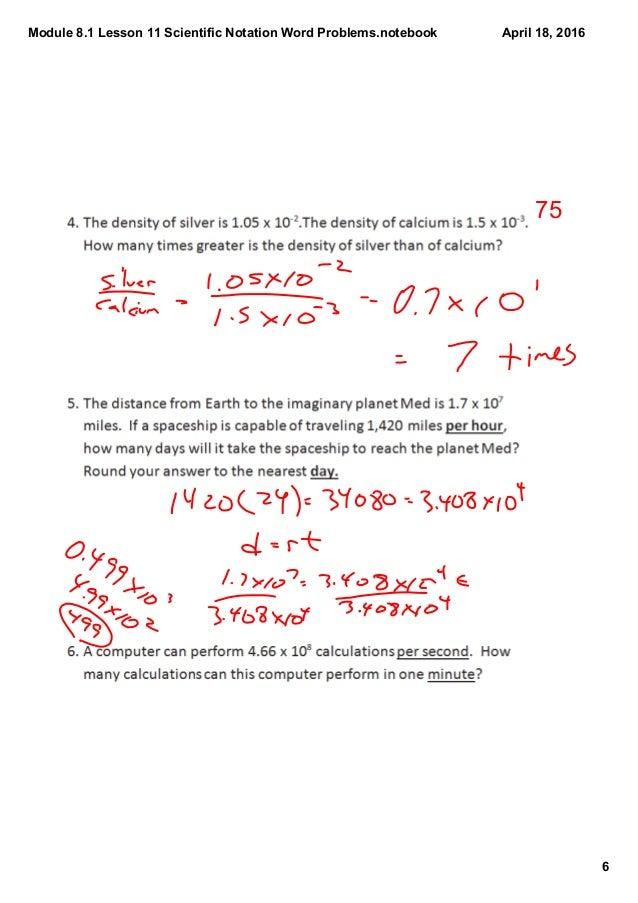 Notation Worksheets