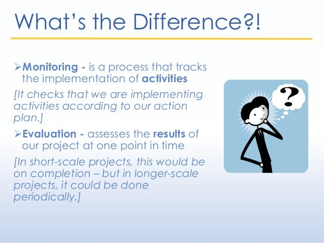 Module 8 - Monitoring and Evaluation Slide 3