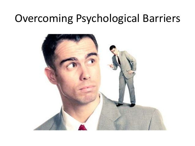 psychological barrier Massie jf, shephard rj physiological and psychological effects of training--a comparison of individual and gymnasium programs, with a characterization of the exercise drop-out med sci sports 1971 fall 3 (3):110–117 olson jm, zanna mp understanding and promoting exercise: a social psychological perspective can j public health.